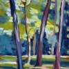 © Christine Eckerfield-Trees with Sunlight and Shadows III, Ald